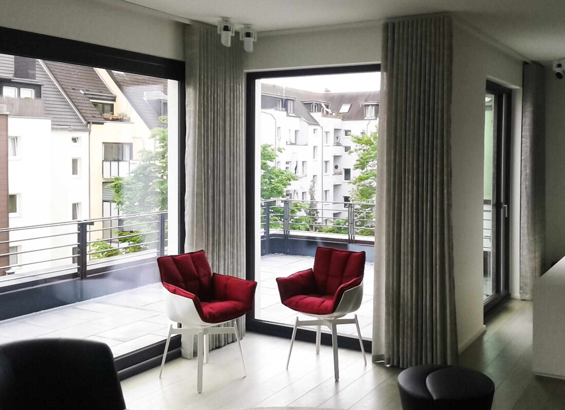 wavevorh nge raumausstattung sch ler raumausstatter in nippes. Black Bedroom Furniture Sets. Home Design Ideas